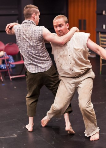 Christopher Niebling, Matthew Ward. Photo by Greg Velichansky.