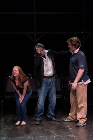 Kelsey Meiklejohn, Sam Rabinovitz, Jack Powers. Photo by Greg Velichansky.