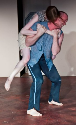 Shaina Higgins, John Stange.  Photo by Greg Velichansky.